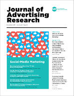 Journal of Advertising Research December 2019 Cover